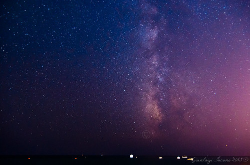 Milky way in Ischia