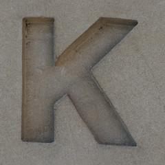letter K (Leo Reynolds) Tags: k canon eos az 300mm 7d letter f80 kkk oneletter iso250 hpexif 0002sec grouponeletter az37 xsquarex xleol30x xxazxx xxvisiblexx