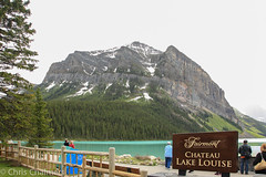 Canada, Lake Louise. (Champots) Tags: canada rockies whistler rocky falls bow banff lakelouise mountaineer rockymountaineer lakemoraine