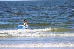 IMG_4063 (Rafael Santiago Bueno) Tags: summer beach girl surf board surfing newyorkbeach surfinggirl beach60