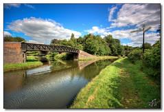 Rushall Junction (rjt208) Tags: bridge heritage history canal industrial motorway footbridge bcn junction salford m6 waterways catshill 1847 britishwaterways rushall sandwell greatbarr rushalljunction tamevalley wyrleyandessington birminghamcanalnavigations rushallcanal rjt208