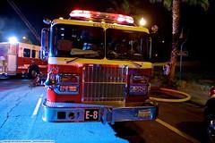 SJS Engine 8 (YFD) Tags: california usa canon fire action 911 sanjose firetruck fireengine sjfd emergency ems firedepartment kme spartan gladiator pumper kovatch eos7d