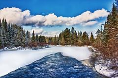 Canada Algonquin (philipp buron photography) Tags: winter snow canada landscape algonquin winterscape recreational impressedbeauty slicesoftime absolutelystunningscapes photographyforrecreationeliteclub