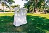 Sculpture In Context 2013 In The Botanic Gardens - Pierced Twist By Ken Drew