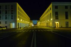 Rome EUR (Leonardo Rizzi) Tags: rome roma night eur palazzo congressi