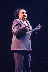 """Roz Ryan (Matron """"Mama"""" Morton) in Chicago produced by Music Circus at the Wells Fargo Pavilion August 20-29, 2013. Photo by Charr Crail."""