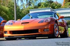 Corvette C6 Z06 (scott597) Tags: cruise ohio orange fall station tour restoration corvette c6 z06 2013 springboro