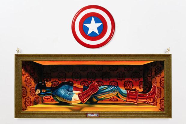 Robert Burden的 有趣玩具繪畫創作