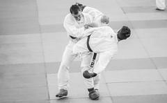 Geraldo De Paula (Geraldo De Paula Photographer) Tags: blackandwhite bw men sports spain espanha martialarts pb karate homem esportes pretoebranco kumite artesmarciais