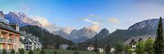 View to Prisank in the Julian Alps (Nanooki) Tags: mountains slovenia kranjskagora prisank julianalpsalps