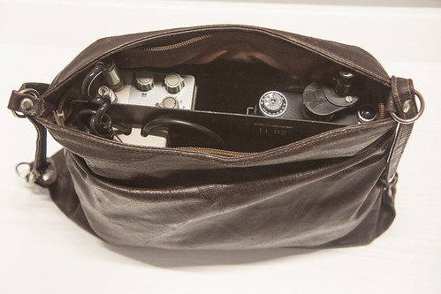 Purse camera, Stasi Museum, Berlin