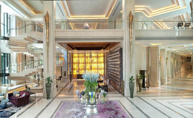 サイアム ケンピンスキー ホテル バンコクのオススメポイント:ロビー