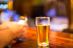 A quiet ale (Niki van Velden) Tags: beer bar phone drink nikivanvelden