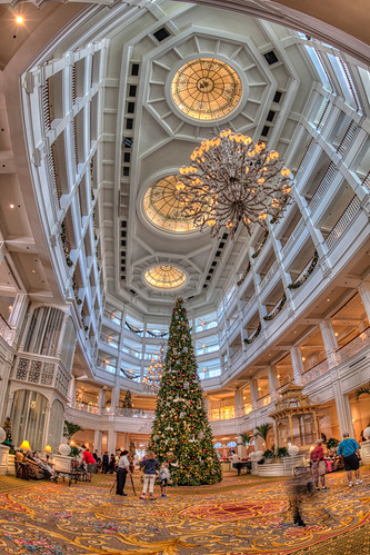 Grand Floridian Fisheye Vertical