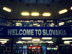 Bratislava main train station (37.7750 N, 122.4183 W) Tags: art history architecture square europe slovakia bratislava easterneurope royalpalace bratislavacastle michaelsgate