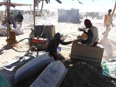 Sudn. Cerca de Sesibi. Pueblo de los buscadores de oro (escandio) Tags: sudan oro 2013 sudn sesibi cercadesesibi