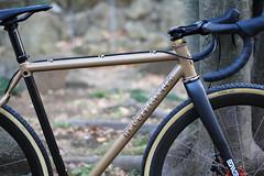 *HUNTER CYCLES* cx complete bike (Blue Lug) Tags: santacruz handmade cx cyclocross sscx huntercycles hunter20140119