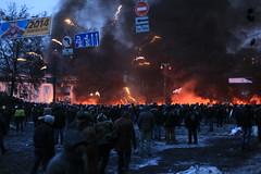 fighting resumed (batenkov) Tags: fire riot protest ukraine kiev v