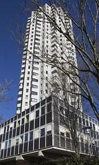 Tour Panoramique, Lyon, France (SpaceLightOrder) Tags: france architecture concrete lyon modernism brutalism reinforcedconcrete rhônealpes tourpanoramique castinsituconcrete françoisrégiscottin