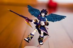 Dark Pit com Dark Pit Staff (FaruSantos) Tags: toys nintendo figurine 3ds kidicarus figma nintendo3ds kidicarusuprising darkpit