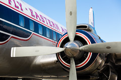 Eastern Airlines DC-7B (alloyjared) Tags: museum airplane dc7 carolinasaviationmuseum