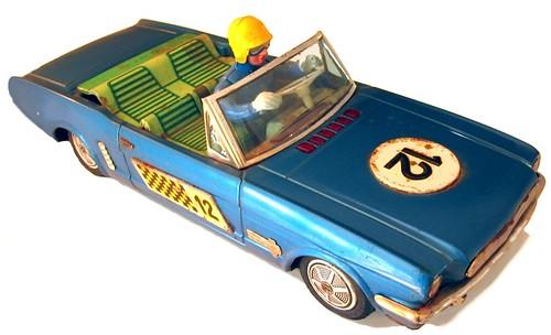 10 Bandai Mustang 1965
