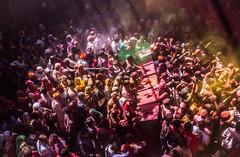 Holi Crowd (Photography Excelerated) Tags: india color incredible holi mathura banke bihari vrindaban
