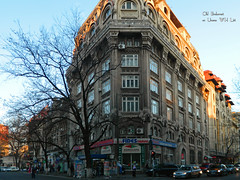 Rosetti Square, Bucharest (Classic Bucharest) Tags: street people architecture strada pedestrian scene romania pedestrians streetscape passerby bucuresti piata oameni bulevardul arhitectura strazi pietoni trecatori passerbies