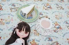 tiramisu and yogurt drink
