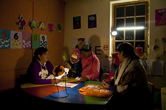 "Solar lights light up the classroom for a parent-teacher meeting • <a style=""font-size:0.8em;"" href=""http://www.flickr.com/photos/69507798@N03/13540413754/"" target=""_blank"">View on Flickr</a>"