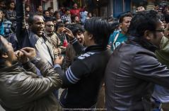 Party Hard    (francisling) Tags: street nepal festival zeiss 35mm t dance sony cybershot celebration kathmandu sonnar      rx1   dscrx1