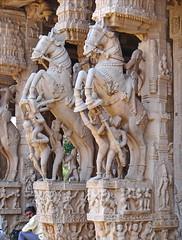 Le temple de Srirangam (Tiruchirapalli, Inde)