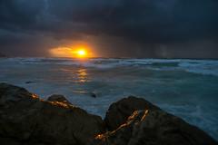 Tel Aviv, Storm is coming (Fat of the Land) Tags: sonyalpha7 m42adapter analogeobjektive telaviv israel oldjaffa storm magiclight