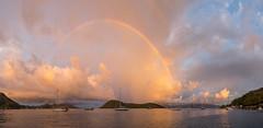 Sunrise rainbow (chris nelson dot ca) Tags: îlesdessaintes antilles guadeloupe