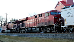 CP 8835, Depot, Dale, 13 Feb 17 (kkaf) Tags: es44ac depot dale cp a491 sandhopper bh