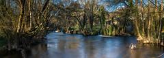 _DSC4286-Pano (Miguel A. Quintás V.) Tags: lee12ndsoftgrad leelandscapepolarizer leeproglass09 minho miño afs247028 d810 landscape lee naturaleza nature paisaje rio river
