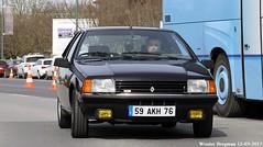 Renault Fuego Turbo (XBXG) Tags: 59akh76 renault fuego turbo renaultfuego coupé coupe noir black 30ème salon des belles champenoises époque reims marne 51 grand est grandest champagne ardennes france frankrijk vintage old classic french car auto automobile voiture ancienne française vehicle outdoor