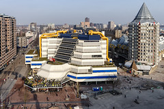 Centrale Bibliotheek Rotterdam (R. Engelsman) Tags: bibliotheek library building architecture rotjeknor 010 netherlands town city stad architectuur rotterdam potlood roof