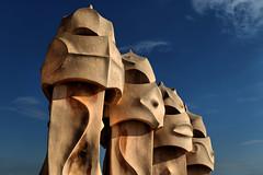 Casa Mila - Gaudi - Barcelona (hbp_pix) Tags: hbppix harry powers gaudi barcelona spain casa mila la pederera