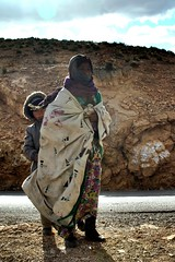 Woman and his baby, Atlas Mountain (micheledini) Tags: different culture potrait beautiful eos canon travelling marocco atlas mountain baby woman mother protective memories around theworld