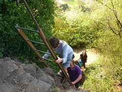 Klettersteig Calmont (Jörg Paul Kaspari) Tags: eller diecalmonttour frühling spring april calmont calmontklettersteig wanderung wandertour leiter klettern