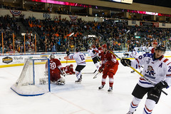 "Missouri Mavericks vs. Allen Americans, March 3, 2017, Silverstein Eye Centers Arena, Independence, Missouri.  Photo: John Howe / Howe Creative Photography • <a style=""font-size:0.8em;"" href=""http://www.flickr.com/photos/134016632@N02/33117918082/"" target=""_blank"">View on Flickr</a>"