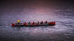 Marinera es la mejor (Carpetovetón) Tags: remo remeros trainera traineras regatas agua atardecer anochecer nikond610 tamron2875 costa cantábrico mar marcantábrico castrourdiales cantabria españa