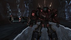 Optimus #1 (BarricadeCaptures) Tags: transformers war for cybertron wfc chapter vi 6 defend iacon autobot leader optimus ion blaster decagon game screenshot screencap