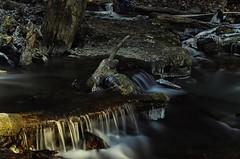 Creek (Paul B0udreau) Tags: canada ontario fotgafadernd neutraldensity niagara paulboudreauphotography nikon nikond5100 longexposure daytime rocks pool photoshop nikkor50mm18 stcatharines sunlight creek water winter