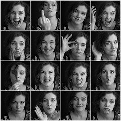 faces of jane (DianaDeluxe Jewelry) Tags: face twofaced girl expressions faceexpression collage woman actress happy angry sad love inlove fuckyou ef mad laud surprised crazy beautiful nice smirk