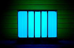 Canister (XoMEoX) Tags: turquoise türkis tank container illuminated illumination d5200 nikon blue blau green grün blaugrün night nacht nachtaufnahme nightshot vessel canister kanister plastic plastik cage caged käfig light licht beleuchtung beleuchtet color colour colors colours lichtcontainer lightcontainer encapsuled