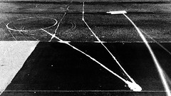 how to avoid being pigeonholed (Dom Guillochon) Tags: urban city asphalt ground signs paint people humans road street time life existence reality dream parallel world lines geometry earth being nothingness multiverse