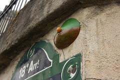 Intra Larue 924 (intra.larue) Tags: intra urbain urban art moulage sein pecho moulding breast seno brust formen téton street arte urbano pit paris france boob urbana peto tetta montmartre
