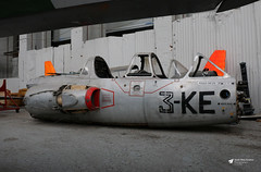 221 Fouga Super Magister, Irish Air Corps Museum, Baldonnel, Dublin, Ireland (Kev Slade Too) Tags: 221 79 3ke fouga magister frenchairforce arméedelair eime casement baldonnel ireland eire dublin irishaircorpsmuseum